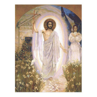 Christ is Risen Postcard