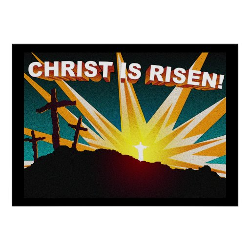 Christ is Risen! Print