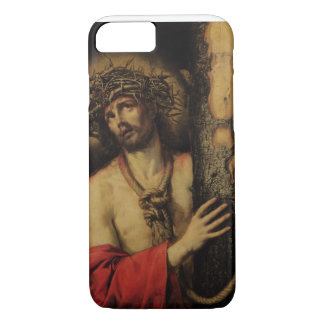 Christ, Man of Sorrows, 1641 (oil on canvas) iPhone 8/7 Case