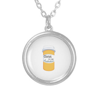 Christ My Addiction Personalized Necklace