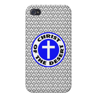 Christ of the Desert iPhone 4/4S Covers