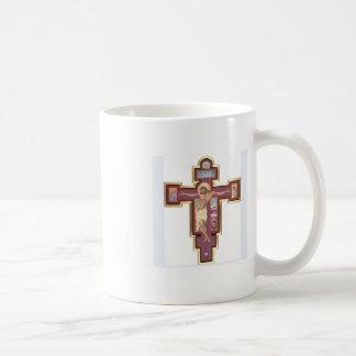 Christ On The Cross Basic White Mug