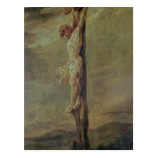 Christ on the Cross, c.1646 Postcard
