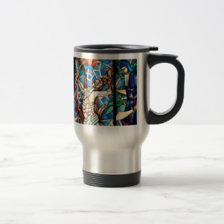 Christ on the cross coffee mugs