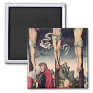 Christ on the Cross Refrigerator Magnets