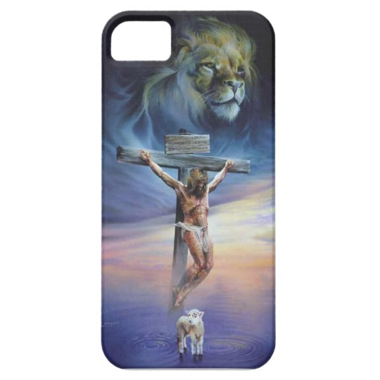Christ on the Cross on iPhone 5/5S, Barely There Barely There iPhone 5 Case