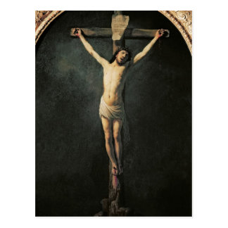 Christ on the Cross Post Card