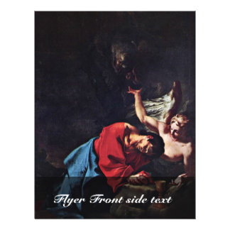 Christ On The Mount Of Olives By Troger Paul Flyer