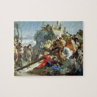 Christ on the Road to Calvary, 1749 (oil on canvas Puzzles