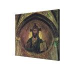 Christ Pantocrat in the apse Canvas Print