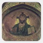 Christ Pantocrat in the apse Square Sticker