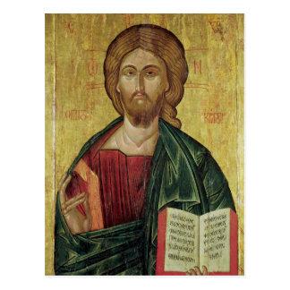 Christ Pantocrator, 1607 Postcard