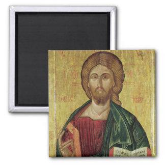 Christ Pantocrator, 1607 Square Magnet