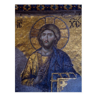 Christ Pantocrator Post Card