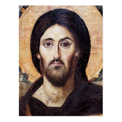 Christ Pantocrator Post Card