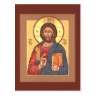 Christ Pantocrator Prayer Card