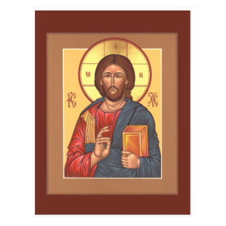 Christ Pantocrator Prayer Card