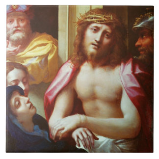 Christ Presented to the People (Ecce Homo) Large Square Tile
