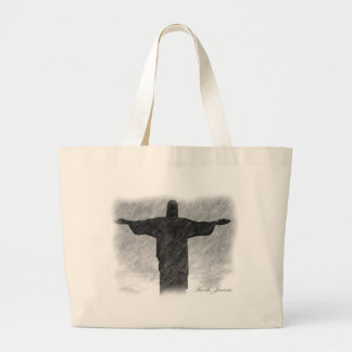 Christ Redeemer 1 Large Tote Bag