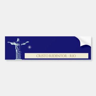 Christ Rio de Janeiro Bumper Sticker