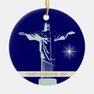 Christ Rio de Janeiro Christmas Ornament