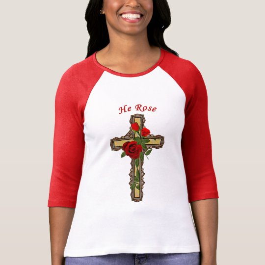 Christ Rose, Womens Christian Shirts