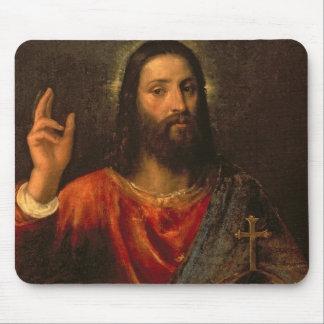 Christ Saviour c 1570 Mousepads