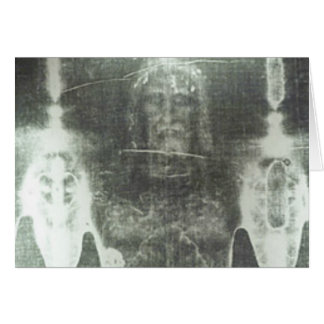 Christ - Shroud Of Turin Greeting Card