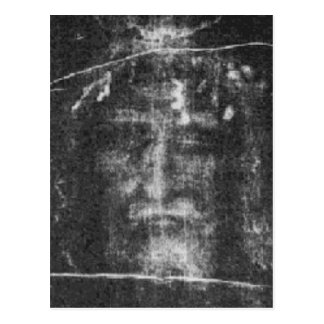 Christ - Shroud Of Turin Postcard