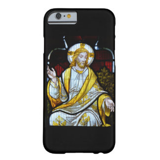 Christ Stained Glass Photograph Cornwall England Barely There iPhone 6 Case