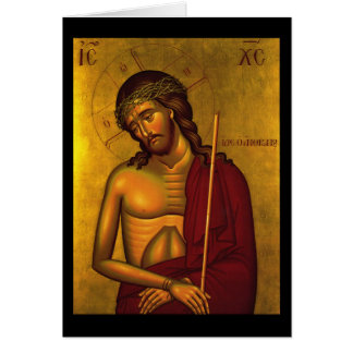 Christ the Bridegroom Icon Greeting Card