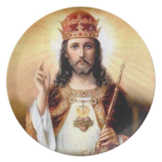 Christ The King Plate