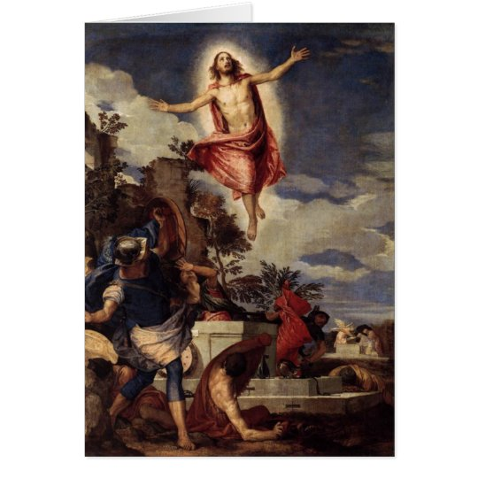 Christ the Lord is risn' today, Alleluia! Card