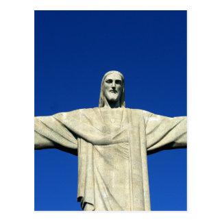Christ The Redeemer Brazil Postcard