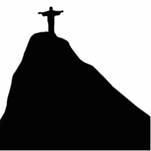 Christ the Redeemer - Corcovado -RJ Acrylic Cut Out