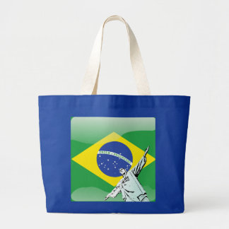Christ the Redeemer Large Tote Bag