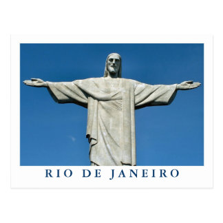 """Christ the Redeemer"" postcard"