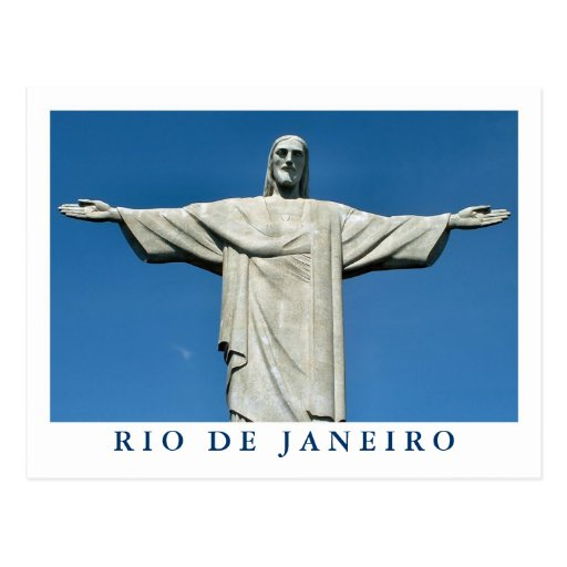 """Christ the Redeemer"" postcard"