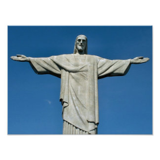 """Christ the Redeemer"" poster"