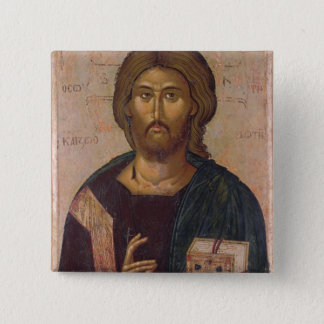 Christ the Redeemer, Source of Life, c.1393-94 15 Cm Square Badge