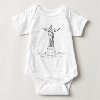 christ the redeemer tee shirt