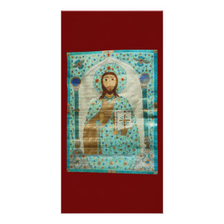 Christ the Teacher Personalized Photo Card