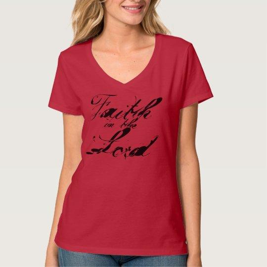 "Christ Walk Apparel ""Faith in the Lord"" T-Shirt"