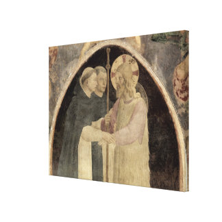 Christ Welcomes Two Dominican Friars, (fresco) (de Canvas Print