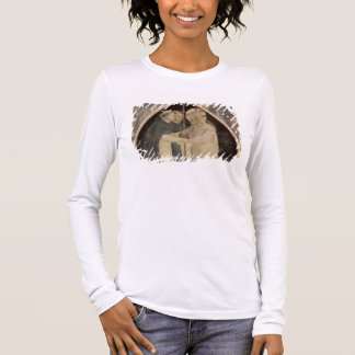 Christ Welcomes Two Dominican Friars, (fresco) (de Long Sleeve T-Shirt