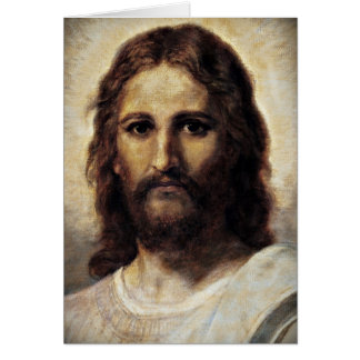 Christ with Compassionate Eyes Card