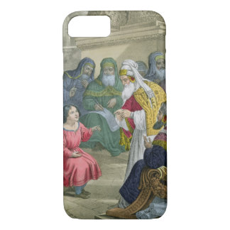 Christ with the Doctors in the Temple, from a bibl iPhone 7 Case