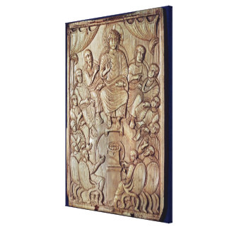 Christ with the Twelve Apostles Canvas Print