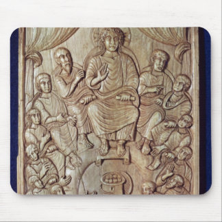 Christ with the Twelve Apostles Mouse Pad