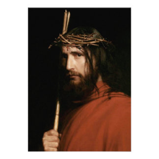Christ with Thorns Fine Art Customizable Cards
